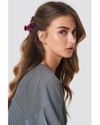 NA-KD - Flower Trio Hairclip - Lyst