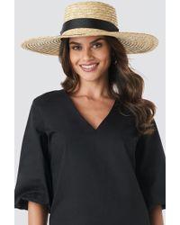 Mango - Hat Campana Sand - Lyst