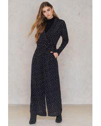 Saint Tropez - Irregular Print Trousers - Lyst