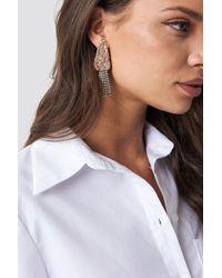 Mango - Maria Earrings Gold - Lyst