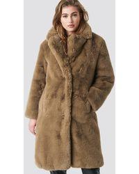Mango - Chilly Coat Camel - Lyst
