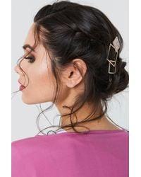 NA-KD - Triple Square Hairclip - Lyst