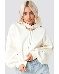 6f1d74cf2b63a Free People Sunshine's Out Pullover Hoodie in Natural - Lyst