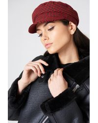 NA-KD - Houndstooth Cap - Lyst