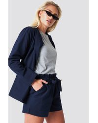 Rut&Circle - Firo Stripe Shorts Dark Navy - Lyst
