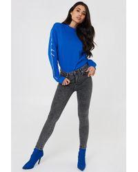 Trendyol - High Waist Skinny Jeans Antracite - Lyst