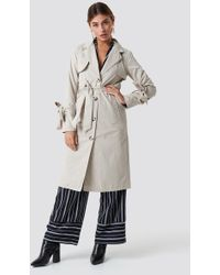 Rut&Circle - Agnes Trench Sand - Lyst