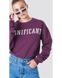 NA-KD - Significant Sweatshirt - Lyst