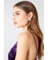 NA-KD | Big Sparkling Stud Earrings | Lyst
