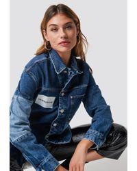 Calvin Klein - One Pocket Trucker Delta Blue - Lyst