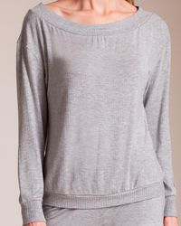 Cosabella - Alessandra Long Sleeve Top - Lyst