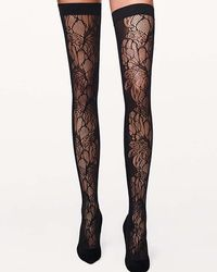 Wolford - Fw17 Lw Blossom Stay-up - Lyst