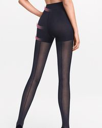 Wolford - Whitney Control Top Tights - Lyst