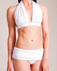 Norma Kamali - Halter Bill Bikini - Lyst