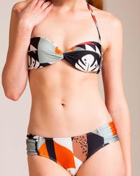 Adriana Degreas - Tropiques Strapless Bikini - Lyst