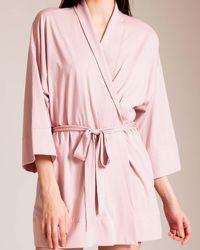 Skin - Pima Cotton Serena Kimono - Lyst