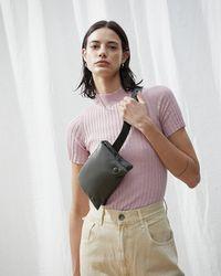 Nanushka - Puffer Belt Bag - Lyst
