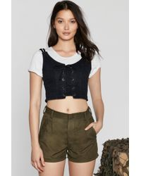 "Nasty Gal - ""after Party Vintage High Ranker Cargo Shorts"" - Lyst"