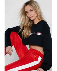 Nasty Gal - Fuck This Crop Sweater - Lyst