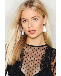 Nasty Gal | Queen Of The Tassel Earrings | Lyst