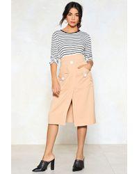 Nasty Gal - Rodeo Pocket Mini Skirt Rodeo Pocket Mini Skirt - Lyst