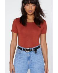 Nasty Gal - Why Have The West Faux Leather Belt - Lyst