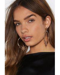 Nasty Gal - Rock Star Earrings - Lyst