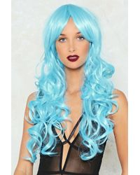 Nasty Gal - Ice Queen Curly Wig Ice Queen Curly Wig - Lyst