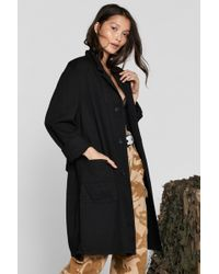 Nasty Gal - After Party Vintage Go Long Jacket - Lyst