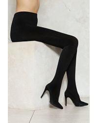 Nasty Gal - The Legging Boot The Legging Boot - Lyst