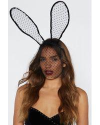 Nasty Gal - Good To Be Ear Bunny Headband - Lyst