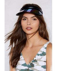 Nasty Gal - Leave 'em None The Visor - Lyst