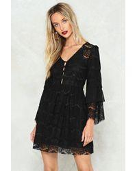 Nasty Gal - Lace Mini Dress Lace Mini Dress - Lyst