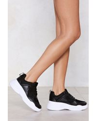 Nasty Gal - Chunk Down With Me Trainer - Lyst