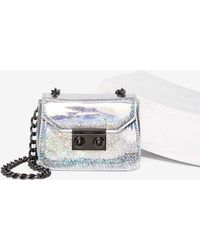 Nila Anthony - Flash Out Holographic Mini Bag - Lyst