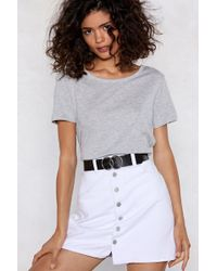 """Nasty Gal - """"you'll Come Round Circle Belt"""" - Lyst"""