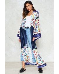 Nasty Gal | Grow And Behold Floral Kimono | Lyst