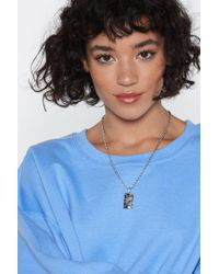 Nasty Gal - For Star-ters Star Necklace - Lyst
