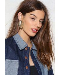 Nasty Gal | Shell Yeah Earrings | Lyst