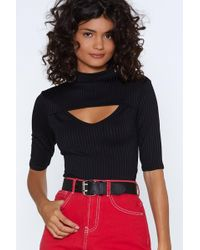 Nasty Gal - Come Cut-out On Top - Lyst