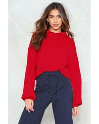 Nasty Gal   Take Some Heat Relaxed Hoodie   Lyst