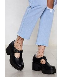 Nasty Gal - Head T-the-bar Cleated Shoe - Lyst