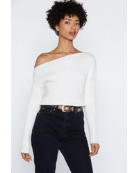 7e9af292e09e1f Lyst - Nasty Gal Take The Edge Off-the-shoulder Top in Yellow