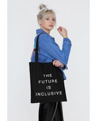 Nasty Gal - The Future Is Inclusive Tote Bag - Lyst