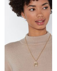 """Nasty Gal - """"just Like Heaven Pendant Necklace"""" - Lyst"""