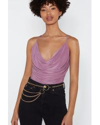"Nasty Gal - ""chain It In O-ring Belt"" - Lyst"