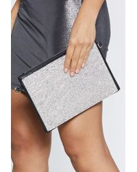 Nasty Gal - Want Off The Chain Mail Shoulder Bag - Lyst
