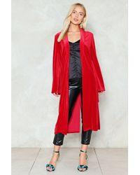 Nasty Gal - Velvet Belted Kimono Velvet Belted Kimono - Lyst