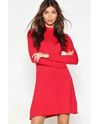 Nasty Gal - Swing My Way Dress - Lyst