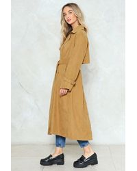 Nasty Gal - Keep At It Duster Coat - Lyst